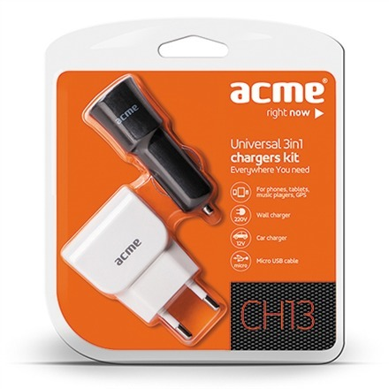 ACME CHARGER KIT 3IN1