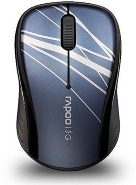 RAPOO 3100P WL OPTICAL MOUSE 5.8GHZ BLUE
