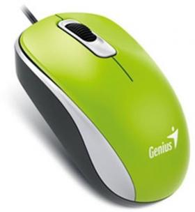 GENIUS OPTICAL MOUSE DX-110 GREEN USB