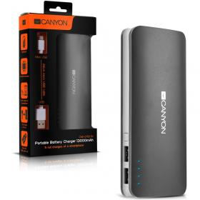 CANYON PORTABLE BATTERY CHARGER CNE-CPB130 BLACK