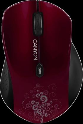 CANYON WL OPTICAL MOUSE CNS-CMSW4R RED