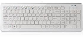 DELUX KEYBOARD DLK-1500U USB WHITE