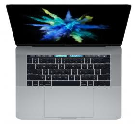 APPLE MACBOOK PRO 15 TOUCH BAR QC I7 2.8GHZ 16GB 256GB SSD RADEON PRO 555 W 2GB SPACE GREY - INT KB