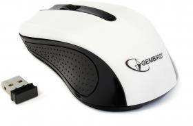 GEMBIRD WL OPTICAL MOUSE MUSW-101 WHITE