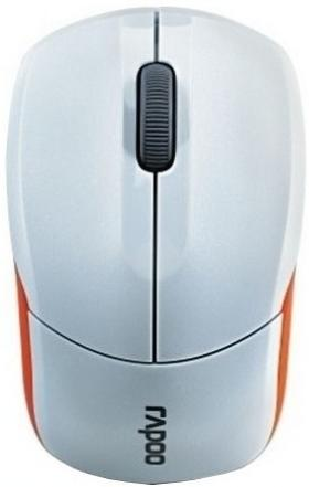 RAPOO WL OPTICAL MOUSE 1190 WHITE