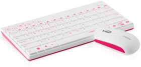RAPOO WL KBD AND MOUSE 8000 PINK