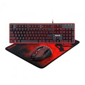 REDRAGON S107 GAMING ESSENTIALS KEYBOARD + MOUSE + MOUSEPAD