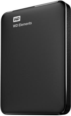 2000GB WD ELEMENTS PORTABLE BLACK