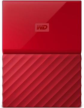 1000GB WD MY PASSPORT RED