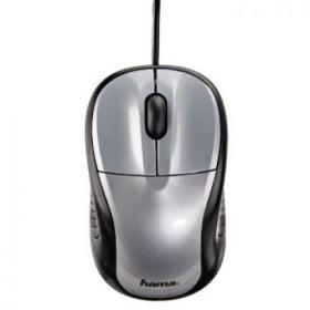 HAMA-86525 MOUSE AM-100 USB GREY