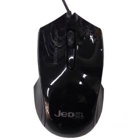 JEDEL OPTICAL MOUSE M51 BLACK USB