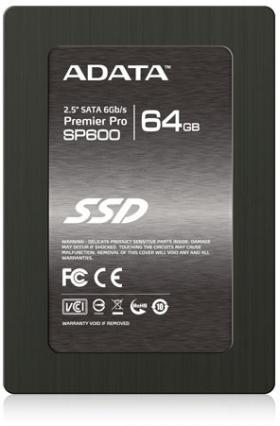 64GB A-DATA SSD SP600 SATA3