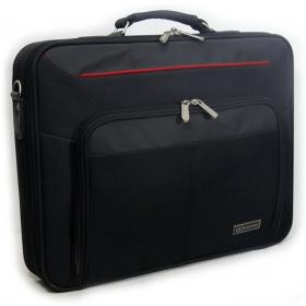 LUCKYSKY NB BAG 15.6 BLACK W/RED