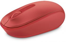MS WL MOUSE 1850 FLAME RED