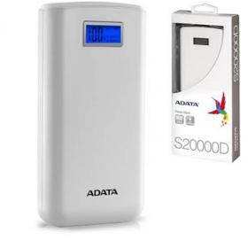 ADATA POWER BANK S20000D WHITE
